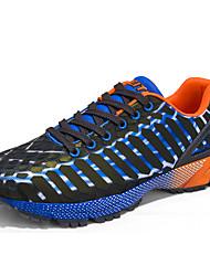 Femme-Décontracté / Sport-Bleu / Vert-Talon Plat-Ballerines-Chaussures d'Athlétisme-Tulle