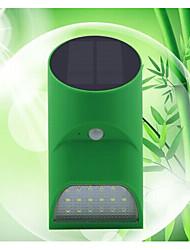 indução lâmpada de parede externa de energia solar levou luz