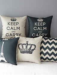 Foreign Custom Thick Section Cotton Jacket Pillow Cushions Household Goods Crown Tower