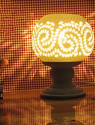 craft creux sur céramique 1pc branché lampe de parfum d'électricité