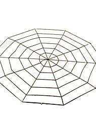 Pour Halloween Araignée Fête / Célébration Déguisement d'Halloween Noir Couleur Pleine Plus d'accessoires Halloween Unisexe Coton