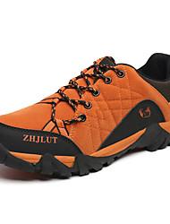 Homme-Extérieure / Sport-Marron / Orange / Vert foncé-Talon Plat-Confort / Bout Arrondi-Chaussures d'Athlétisme-Polyuréthane