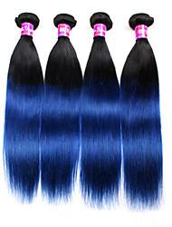 4 Stück Gerade Menschliches Haar Webarten Malaysisches Haar Menschliches Haar Webarten Gerade