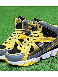 Unisexe-Sport-Noir / Jaune / Rouge-Talon Plat-Ballerines-Sneakers-Tulle