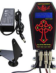 Solong tattoo Pro Tattoo Power supply Coffin Clock For Tattoo Machine  Kit  P134