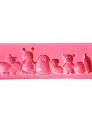 Animals  Silicone Cake Mold SM-499