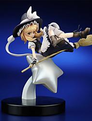 Проект Тоухоу Marisa Kirisame PVC 25cm Аниме Фигурки Модель игрушки игрушки куклы