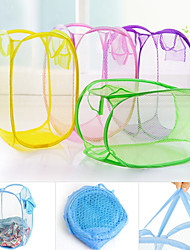 The Hamper Portable Cute Cartoon Basket Artistic (Random Colours)
