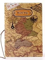 Voyage Etui à Passeport & Pièce d'Identité Protège Passeport Rangement de Voyage Etanche Résistant à la poussière Portable