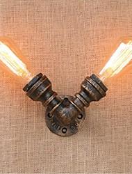 AC 220V-240V 40w e27 saudade bg803-2 tubulação de água simples luz decorativos de parede lâmpada de parede pequeno