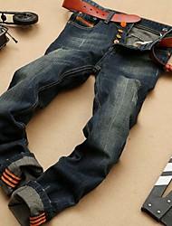 Fashion Straight Mens JeansHigh Quality 100% Cotton Casual Jeans MenHot Sale Retail&Wholesale Denim Men Jeans