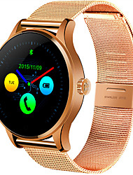 Smart Watch 1.22 Inch IPS Round Screen Support Heart Rate Monitor Bluetooth smartWatch For apple huawei IOS Android