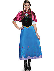 Fantasias de Cosplay Princesa Rainha Conto de Fadas Cosplay de Filmes Vestido Xale Dia Das Bruxas Carnaval Feminino