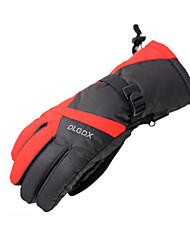 Gants de ski Gants hivernaux Homme Gants sport Garder au chaud Antidérapage Etanche Ski Moto Polyuréthane Gants de ski Hiver