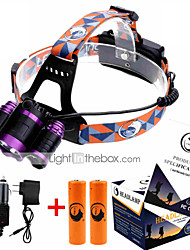 U`King ZQ-X809  XM-L T6 Headlamp LED 4 Mode 6000LM Adjustable Focus / High Power Portable headlight glare