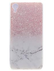 Pour Coque Sony / Xperia X Transparente / Motif Coque Coque Arrière Coque Marbre Flexible TPU Sony Sony Xperia X