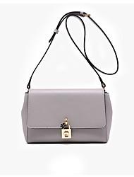 LaFestin® Women Cowhide Shoulder Bag Pink / Gray / Black-618718