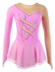 Ice Skating Dress Women's / Girl's Long Sleeve Skating Skirts & Dresses Figure Skating DressBreathable / Softness / Stretch /