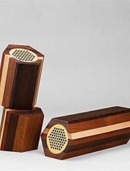mudu bluetooth haut-parleur 4 types de pur bois massif voiture sonore audio