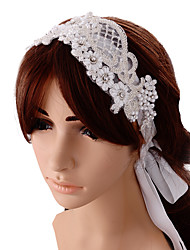 Women's Satin Headpiece-Wedding Special Occasion Headbands 1 Piece