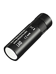 Nitecore® Lampes Torches LED LED 135 Lumens 3 Mode Cree AA Intensité Réglable / Rechargeable / Taille Compacte