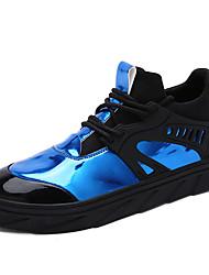 Femme-Décontracté-Noir / Bleu / BlancOthers-Sneakers-Cuir
