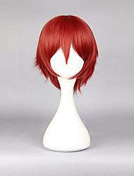 30 centímetros de anime cosplays assassinato karma akabane cosplay peruca vermelha traje masculino peruca cabelo