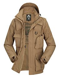 Wandern Softshell Jacken Unisex Wasserdicht / warm halten / Rasche Trocknung / Windundurchlässig / tragbar Herbst / Winter Terylen