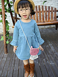 Girl's Casual/Daily Solid Jeans / Overall & JumpsuitCotton Spring / Fall Blue