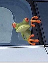 мультфильм лягушка 3d наклейки декоративные наклейки