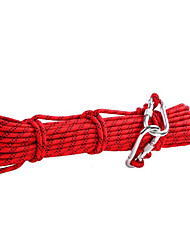 8mm Outdoor Hiking Climbing Rope Rescue Equipment Safety Rope  Length 10 Meters