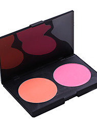 Blush Pó Gloss Colorido / Longa Duração / Secagem Rápida Rosto