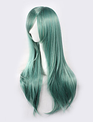 Kagerou Project Wood Bud Green Straight Long Halloween Wigs Synthetic Wigs Costume Wigs