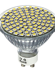 1pcs 4w 80smd 2835 400-450lm a conduit spot spot gu10 / mr16 gu5.3 projecteur led blanc chaud / chaud ac220-240v