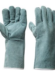 Thermal Protection Leather Gloves