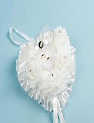 Weiß Rosa 1 Kristall Viskose