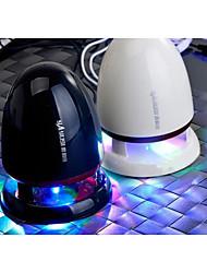 stereo baixo arma móvel mini alto-falante portátil criativo