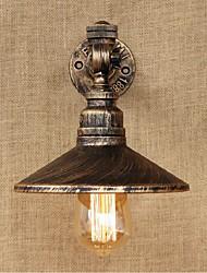 ac 220v-240v 40w e27 bg146 rustique fonctionnalité / peinture lodge pour le mur de lumière ampoule includedambient appliques murale