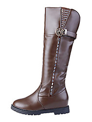 Women's Boots Fall / Winter Snow Boots /Motorcycle Boots / Bootie / Gladiator / Comfort / Novelty Leather