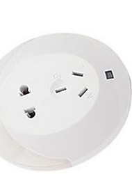 Ronco Sans-Fil Others Light Control Sensor LED Night Light Plug Socket Blanc