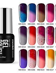Vernis Gel UV 7 1 Gel de Couleur UV Faire tremper au large de Long Lasting