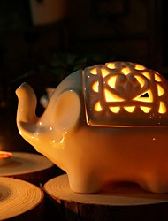 Lucky Elephant Candle Holder / Jewel Box / Candy Box / Beter Gifts® Life Style Home Dcor