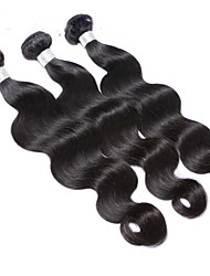 Wholesale Peruvian Virgin Hair Body Wave Hair Extension 3pcs lot 10''-30'' in stock Hair Weaves Hair Bundles
