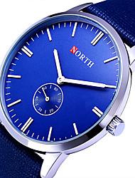 Мужской Спортивные часы / Армейские часы / Нарядные часы / Модные часы / Наручные часы Кварцевый Цветной Кожа ГруппаВинтаж / Cool /