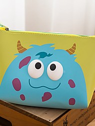 Cosmetic Bag Water Proof Hand Take Cosmetics Cartoon Lovely (Random Colours)