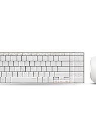 Rapoo wireless mouse keyboard combo 9160 Ultra-thin  for mac Apple Keyboard Style