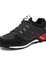Masculino-Tênis-Conforto-Rasteiro-Azul Verde Preto e Vermelho Preto e Branco-Tule-Para Esporte
