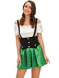 Shamrock Sweetie 2pcs Beer Girl Costume