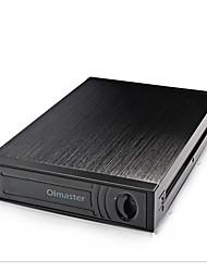 oimaster nido de abeja poco bit / 6 de disco de doble disco con la caja de disco duro SATA RAID chasis de color al azar caja de disco duro