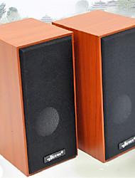 деревянные USB звук настольный компьютер ноутбук динамик сабвуфер автомобиль аудио